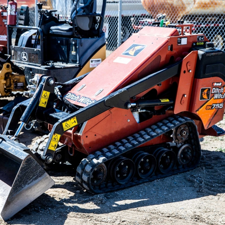 Skid Steer and Attachments For Rent